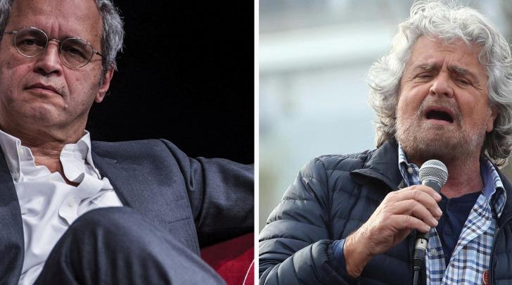 Mentana vs Grillo