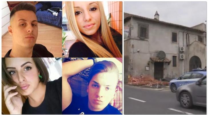Le vittime dello schianto a Setteville di Guidonia