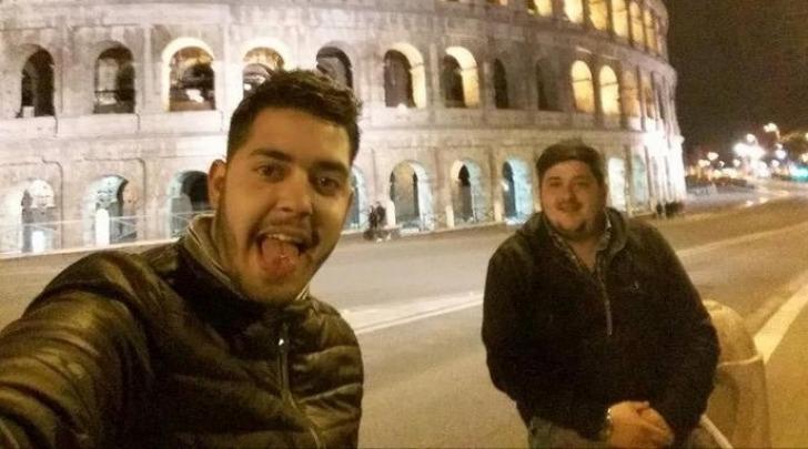 """Castagnacci e Palmisani - foto da Fb """"La città di Alatri"""""""