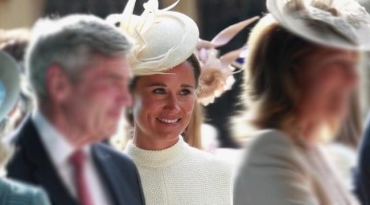 Pippa nel giorno del matrimonio della sorella Kate