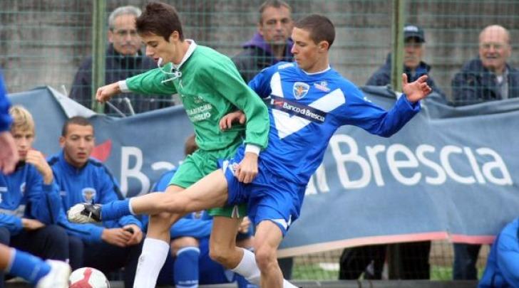 Fabrizio Paghera con la maglia del Brescia