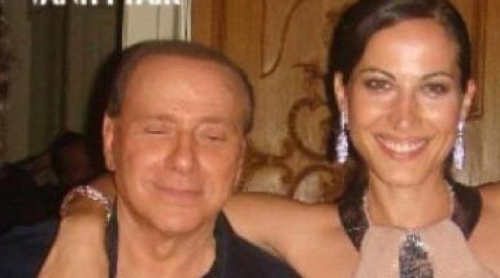 Silvio Berlusconi e Sabina Began