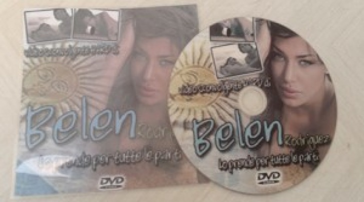 Sex tape Belen Rodriguez in DVD a Napoli