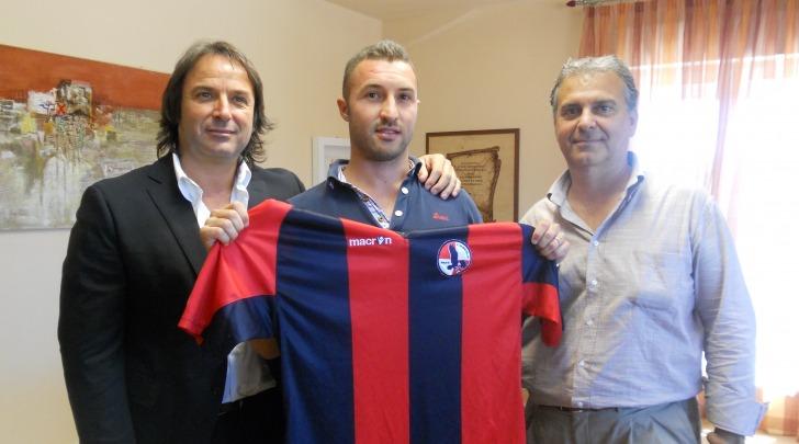Michele Menicozzo con la sua nuova maglia