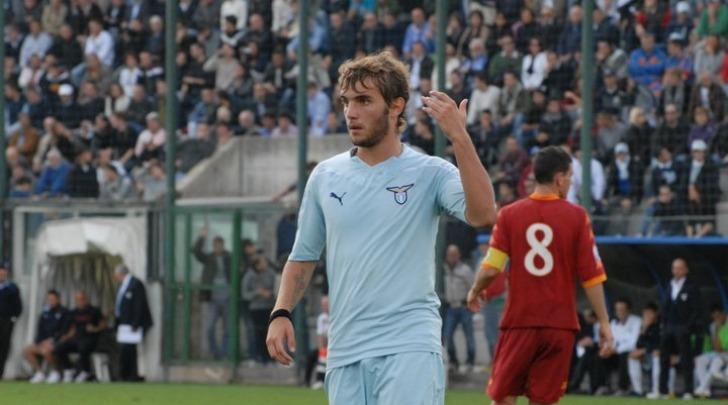 Tommaso Ceccarelli con la maglia della Lazio