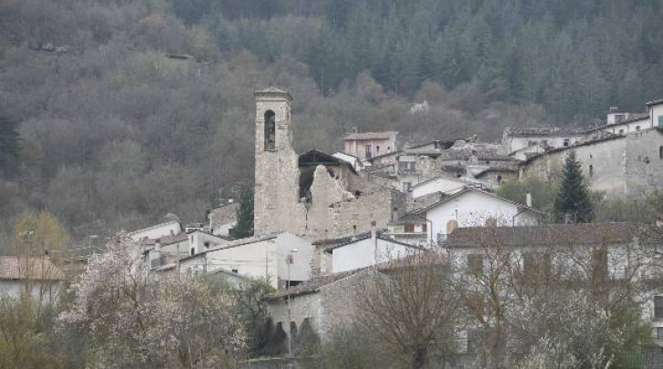 Casentino (AQ) dopo il terremoto 2009