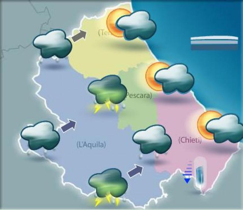 Previsioni meteo per domani alternanza di piogge e - Meteo bagno di romagna domani ...