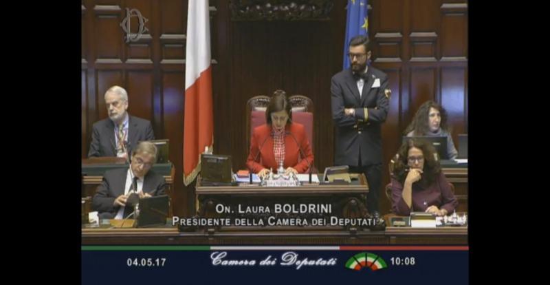 Legittima difesa oggi il voto alla camera la diretta for Camera diretta tv