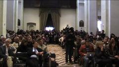 convegno tenuto nella chiesa di San Giuseppe Artigiano