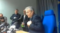 Conferenza stampa Gianni Chiodi