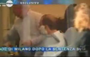 Video shock: il giudice Mesiano è andato dal barbiere!