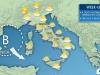 Perturbazioni in transito sulla Penisola, week end Pioggia e