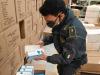 Covid, Guardia di Finanza effettua maxi sequestro di dispositivi anticovid nel teramano