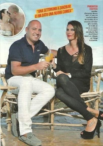 Calendario Mascia Ferri.Mascia Ferri La Bella Ex Gf Madre Di Due Bellissime Bambine