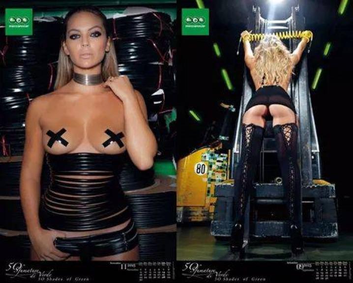 Sarah Nile Calendario.Sarah Nile Sexy E Nudo Calendario 2015 Per Meccanocar