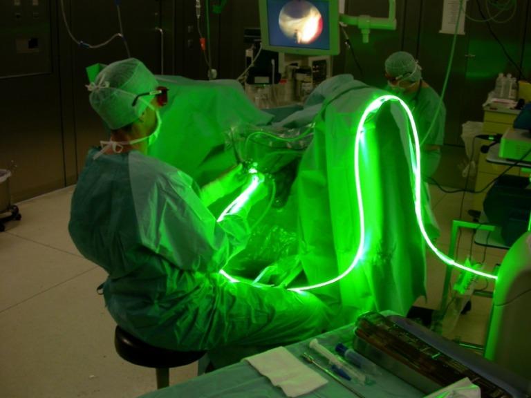dove si effettuano interventi per la prostata con laser verdes