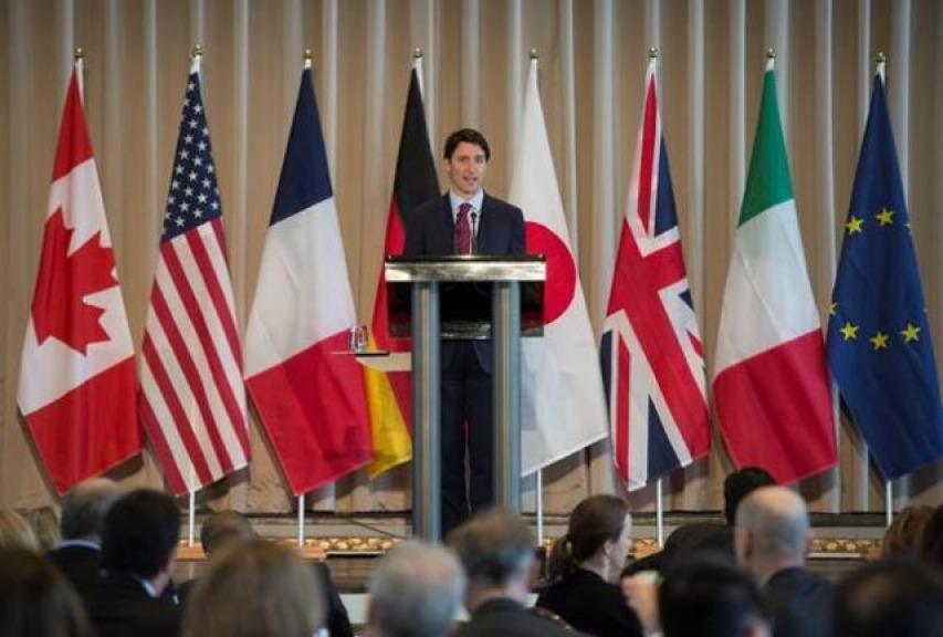 Con un Tweet, Trump ha distrutto la credibilità del G7