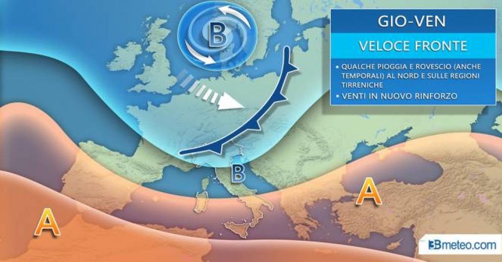 Previsioni meteo 14-15-16 febbraio 2020 provincia Roma e Frosinone