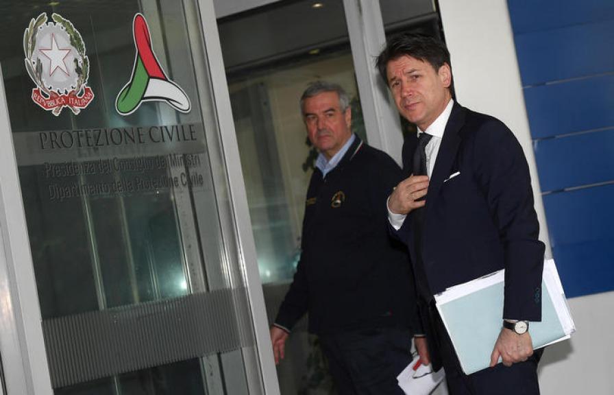 La situazione aggiornata dei contagi da coronavirus in Italia