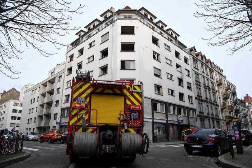 Fiamme in un palazzo a Strasburgo: cinque morti e sette feriti VIDEO