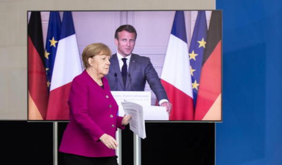 Merkel e Macron: Ue si prepari a nuova ondata pandemia