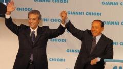 Gianni Chiodi e Silvio Berlusconi