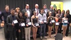 Carlo Masci premia atleti Uisp