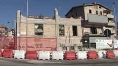 Abbattimento palazzo L'Aquila