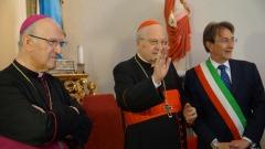 inaugurazione Santa Maria di Farfa