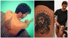 Stefano De Martino, nuovo tatuaggio a tema religioso