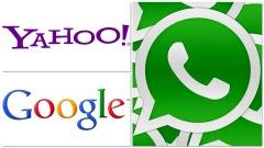 Yahoo! - Google - WhatsApp