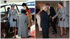 Kate Middleton incontra Presidente Singapore