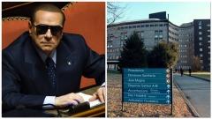 Berlusconi ricoverato al San Raffaele a causa dell'Uveite