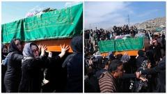I funerali della giovane Farkhunda bruciata viva