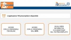 730 precompilato online
