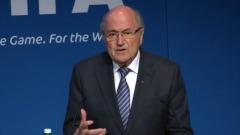 REPLAY: Blatter says he will lay down mandate