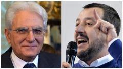Mattarella - Salvini