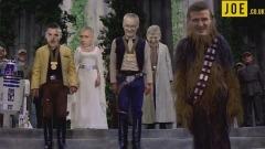 Parodia 'Leicester-Star Wars'