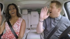 Michelle Obama canta Beyoncè in macchina
