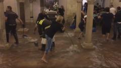 Allagata la cripta della Basilica di San Nicola, a Bari