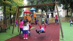 Parco giochi nella Villa Comunale di Paganica