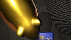 Valerio Staffelli ed il tapiro d'oro