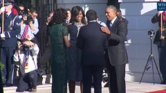 Matteo Renzi ricevuto da Barack Obama alla Casa Bianca