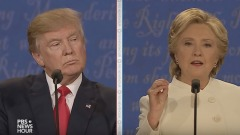 The final 2016 presidential debate between Hillary Clinton and Donald Trump
