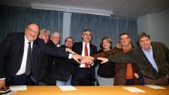 firma della convenzioni con le amministrazioni comunali