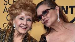 Debbie Reynolds e la figlia Carrie Fisher