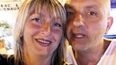Luigi Garofalo con l'ex moglie Elena Farina - foto da fb