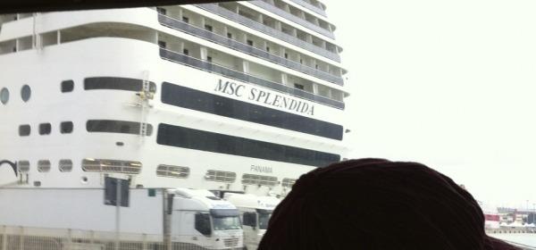 Sbarco da MSC Splendida