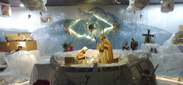 Foto del presepe all'ospedale di Atri