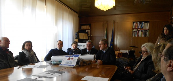 Foto della conferenza stampa di presentazione
